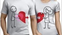 Sevgili Tişörtü Çift Tişörtleri Kombin