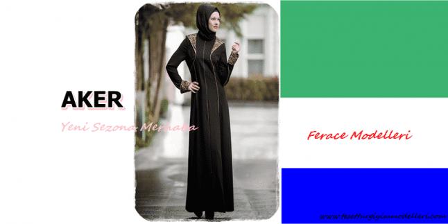 2015 Aker Ferace Modelleri-Aker Yeni Sezon Ferace Modelleri