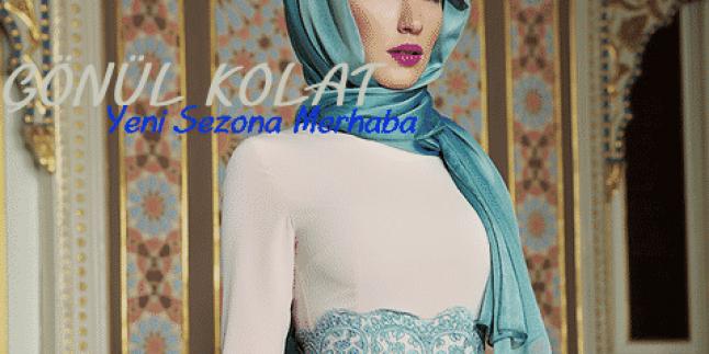2015 Gönül Kolat Şeker Pembesi Dantelli Elbise Modeli
