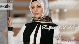2015 Tekbir Eşarp Modelleri-Tekbir Yeni Sezon Eşarp Modelleri