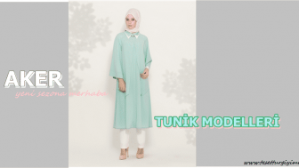 2015 Aker Tunik Modelleri-Aker Yeni Sezon Tunik Modelleri