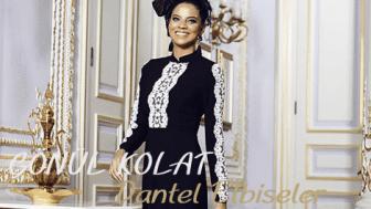 2015 Gönül Kolat Dantelli Takım Elbise Modelleri