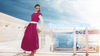 2015 Tuğba Venn Tesettür Elbise Modelleri-Tuğba Yeni Sezon Elbise Modelleri