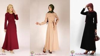 Son Moda Tesettür Pardesü Modelleri Alvina