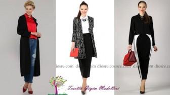 Hare Tesettür Giyim Modelleri