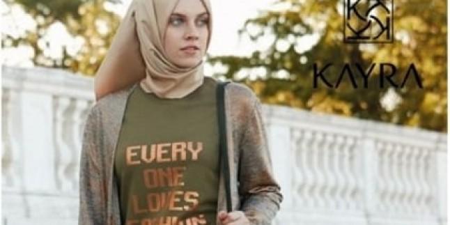 2016 Kayra Tesettür Giyim Kap Pardesü Tunik Elbise Modelleri