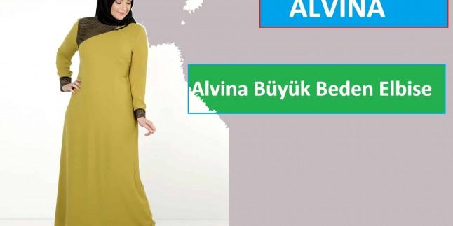 Alvina Büyük Beden Elbise Modelleri