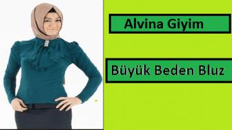 Alvina Büyük Beden Bluz Modelleri