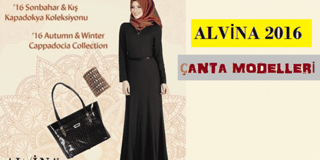 Alvina Çanta Modelleri-2015 2016 Alvina Çantalar