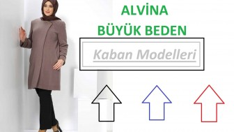 Alvina Büyük Beden Kaban Modelleri