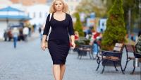 Diesre Büyük Beden Elbise Modelleri