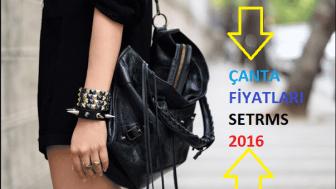 2016 Setrms Çanta Fiyatları