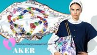 2016 Aker Eşarp Modelleri