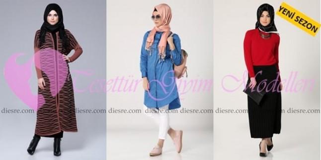 2016 HLD Triko Tesettür Giyim Modelleri