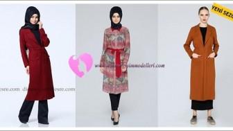 2016 Puane Tesettür Giyim Modelleri