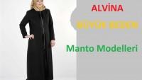 Büyük Beden Alvina Manto Modelleri