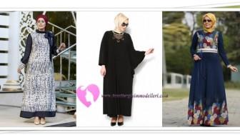 Modanisa Büyük Beden Elbise Modelleri
