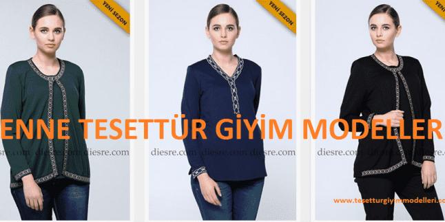 Renne Tesettür Giyim Modelleri – Diesre Renne Markası