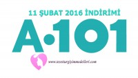11 Şubat A101 İndirimi – A101 11 Şubat Broşürü