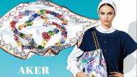 Yeni Sezon Aker Eşarp Modelleri 2016
