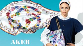 Aker Tivil İpek Eşarp Modelleri 2016