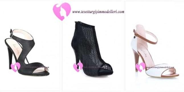 Diesre Topuklu Ayakkabı Modelleri