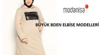 Modanisa Büyük Beden Elbise Modelleri Yeni Sezon