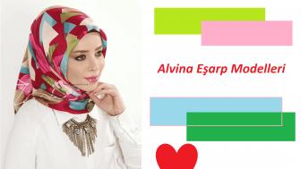 Alvina Eşarp Modelleri