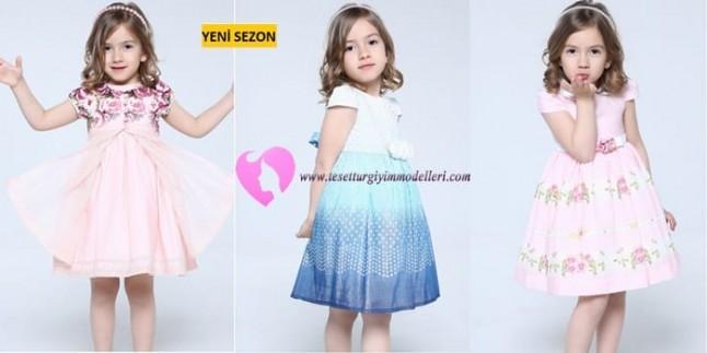 Kız Çocuğu Elbise Modelleri