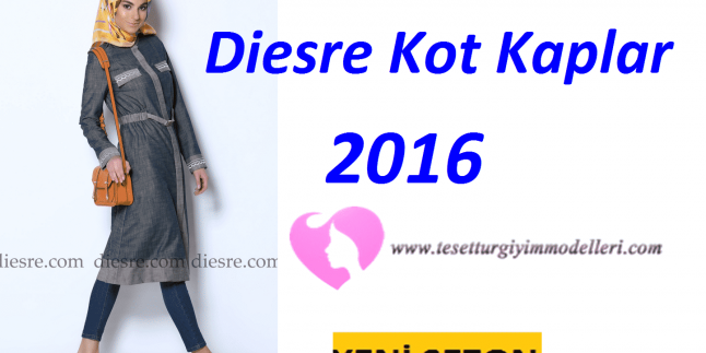 Diesre Kot Kap Modelleri 2016