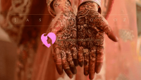 Düğünlerde Hint Kınası Modelleri