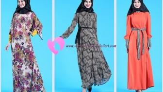 Tekbir Büyük Beden Elbise Modelleri
