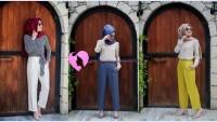 Minel Aşk Tesettür Pantolon Modelleri 2016