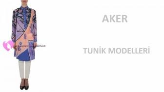 Aker Tesettür Tunik Modelleri 2016