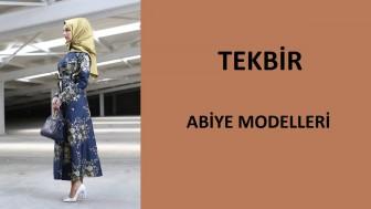 Tekbir Abiye Modelleri