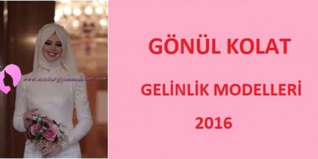 Gönül Kolat Gelinlik Modelleri 2016