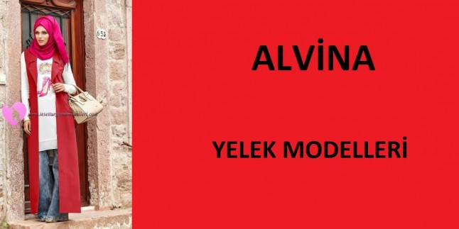 Alvina Tesettür Yelek Modelleri