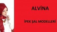 Alvina İpek Şal Modelleri