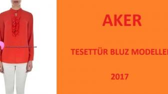 Aker Tesettür Bluz Modelleri 2017