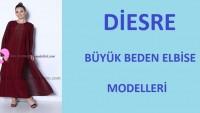 Diesre Büyük Beden Elbise Modelleri 2017