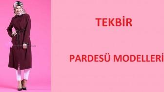 Tekbir Pardesü Modelleri