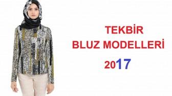 2017 Tekbir Bluz Modelleri-Tesettür Bluz Modelleri