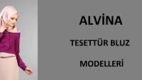 Alvina Tesettür Bluz Modelleri
