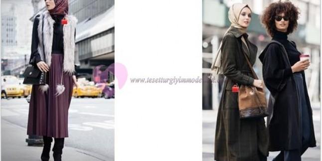Gençlere Özel Tesettür Giyim Modelleri