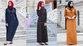 Günlük Tesettür Elbise Modelleri 2017