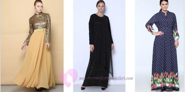 Tozlu Büyük Beden Tesettür Giyim Modelleri 2017