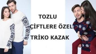 Tozlu Çiftlere Özel Triko Kazak Modelleri
