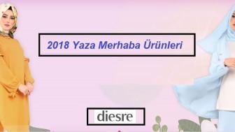 Diesre Tesettür Giyim Modelleri 2018