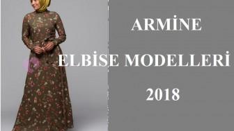 Armine Elbise Modelleri 2018