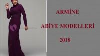 Armine Abiye Modelleri 2018